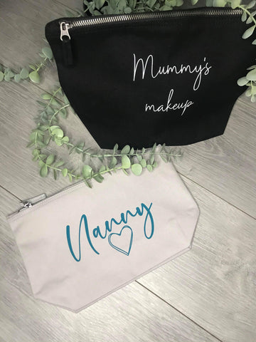 Personalised Cosmetics Bag