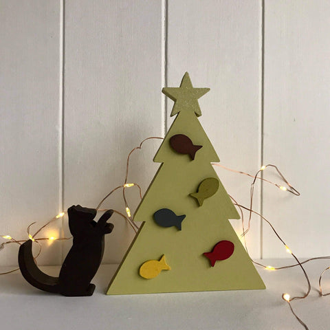 Cat Lovers Tree Decoration