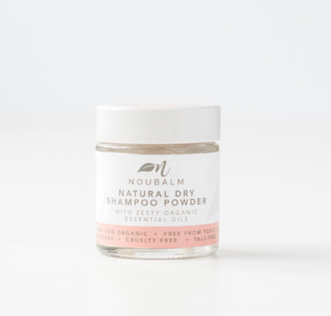 Noubalm Natural Organic Dry Shampoo Powder