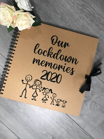 Lockdown memory kraft book