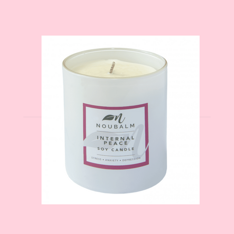 Noubalm Internal Peace Soy Wax Candle