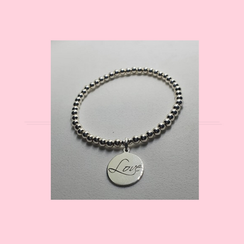 Love Tag Sterling Silver Jewellery Collection