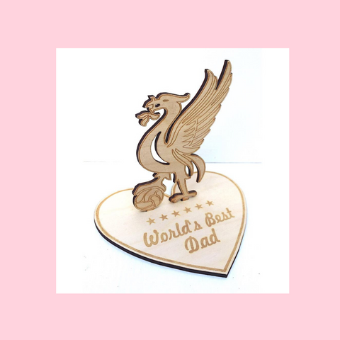 Liverbird Liverpool Wooden Figurine