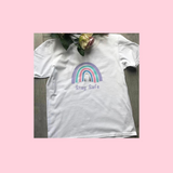 Stay Safe Rainbow Of Hope And Support T-Shirt