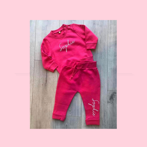 Personalised Childrens Tracksuit