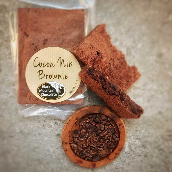 Cocoa Nib Brownie