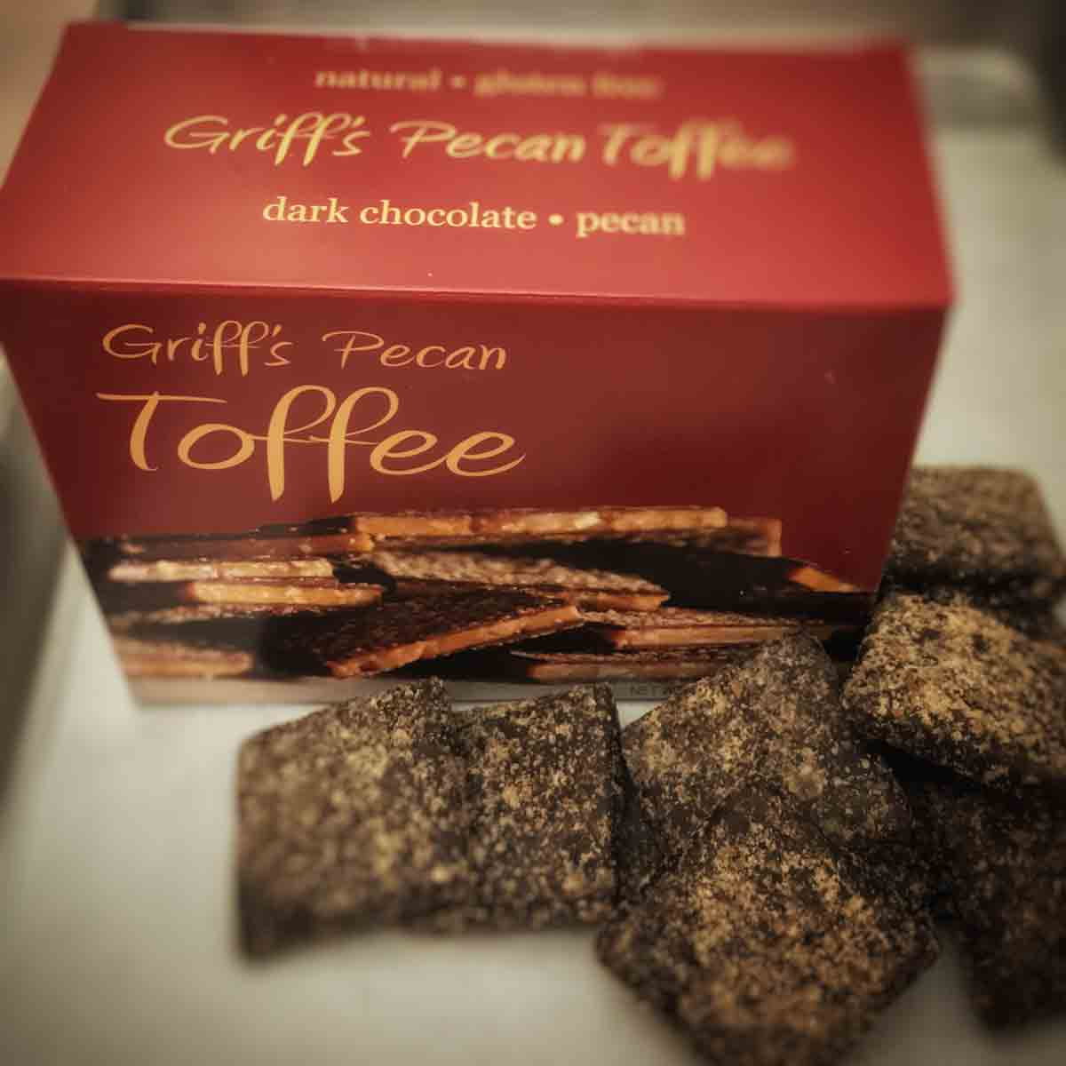 Griff's Pecan Toffee