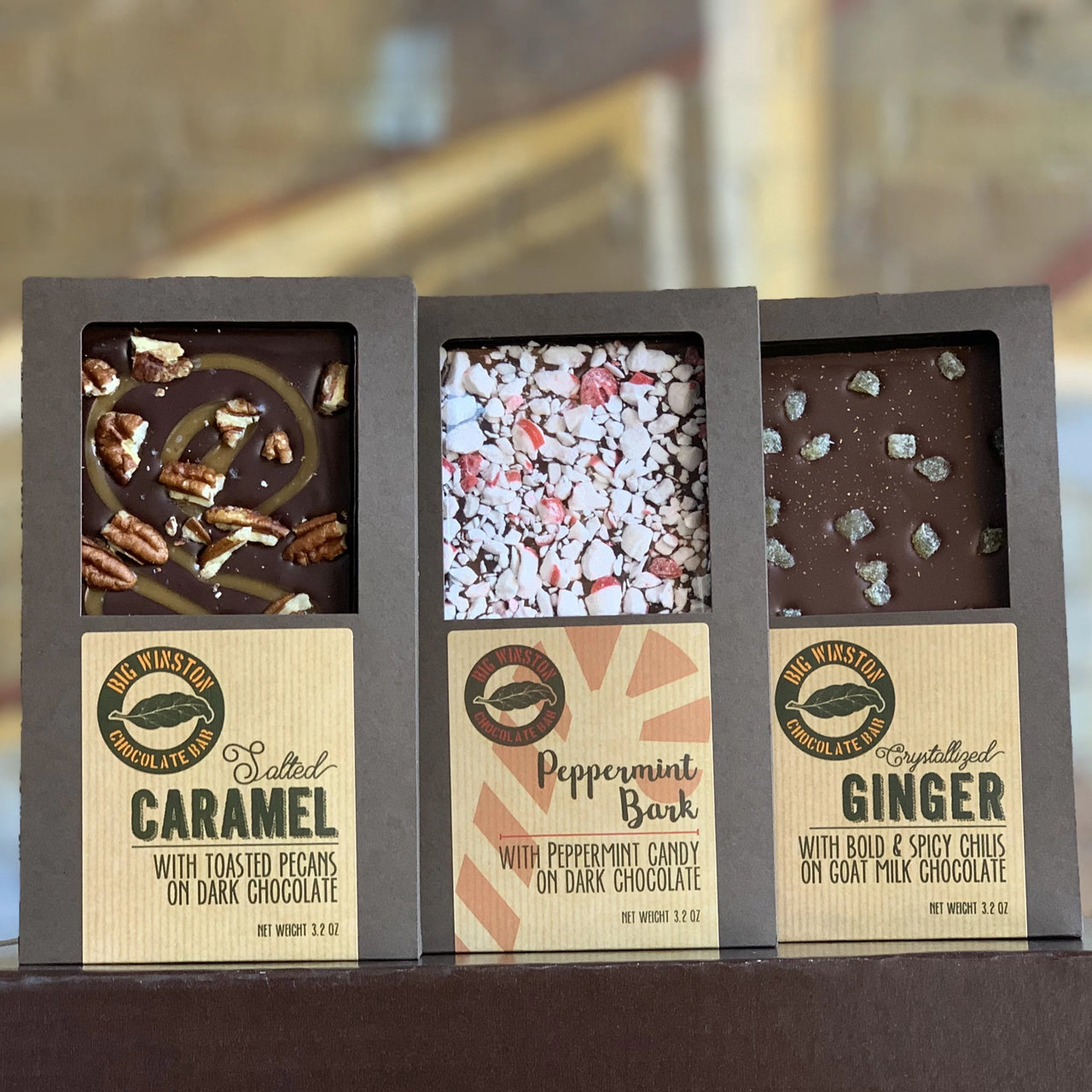 Big Winston Bar Sampler Gift Box