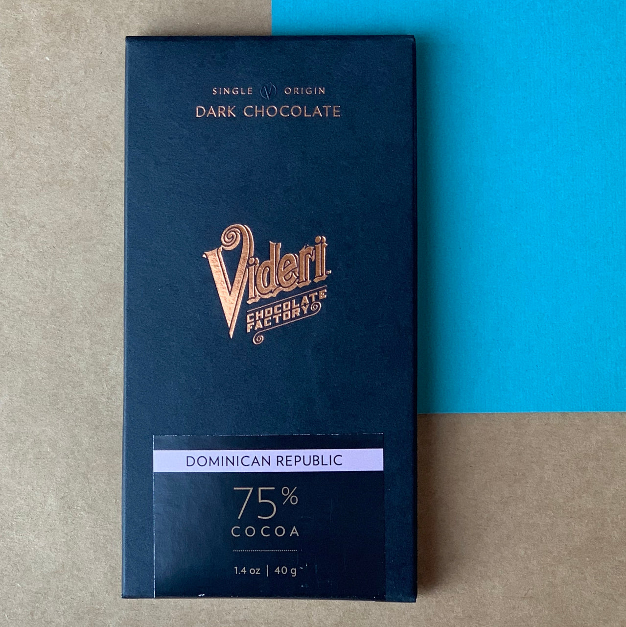 Black Mountain Chocolate Factory prides themselves on curating a collection of some of the best small batch chocolate made in North Carolina.  This includes the Videri 75% Domincan Bar, produced in Raleigh, NC