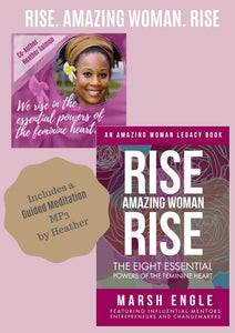 Rise. Amazing Woman. Rise Book + Guided Meditation