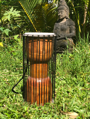 Wooden Drum with Strings