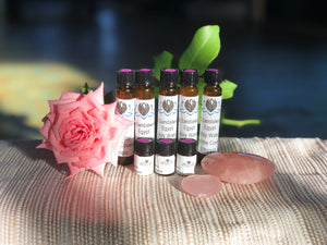 Rose, Sandalwood & Holy Water Temple Oil