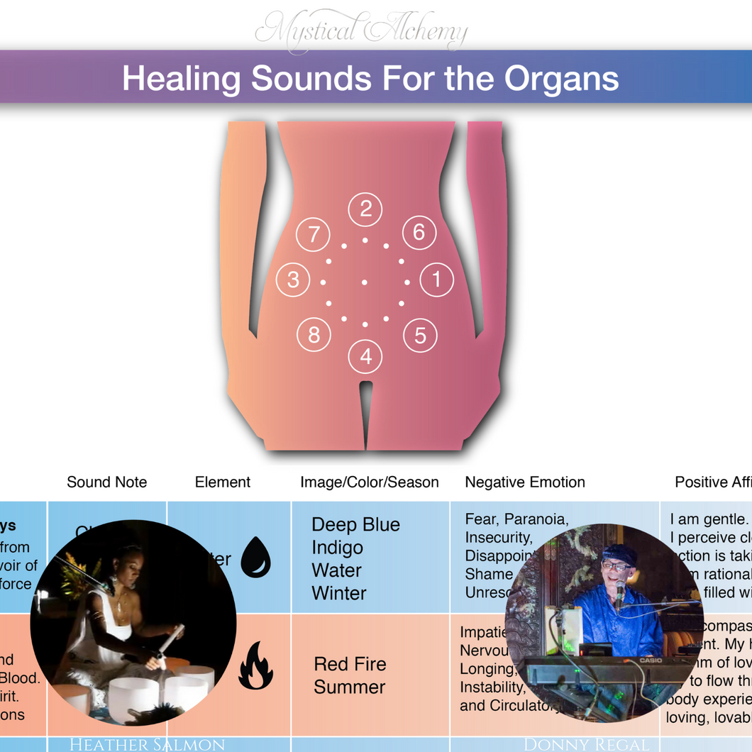 Sound Healing for the Organs