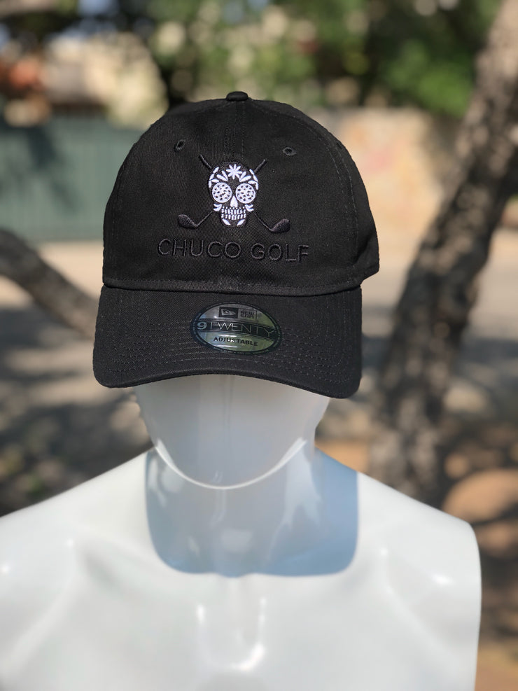 Chuco Golf Cap- Black