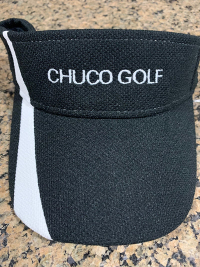 Chuco Golf Visor- Black