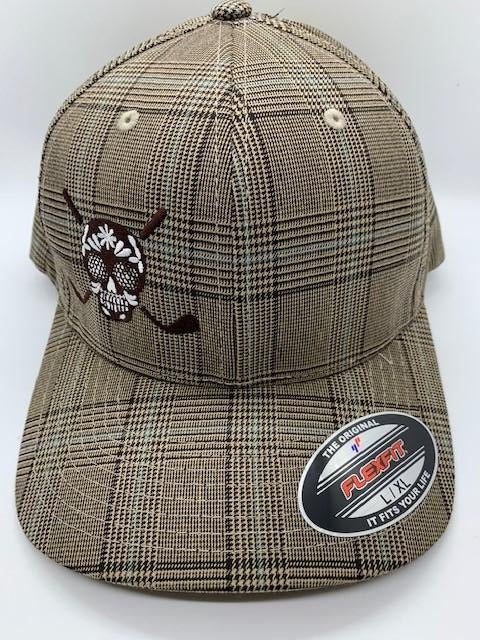 Chuco Plaid Golf Hat - ChocoLate