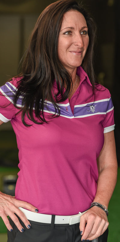 Chuco Golf Executive Women's Sport Polo- Lavender