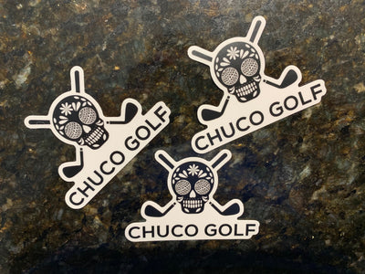 Chuco Golf Decal