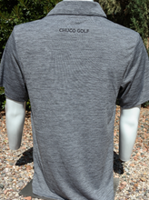 Load image into Gallery viewer, Chuco Heather Golf Polo- Heather Grey Sombrero