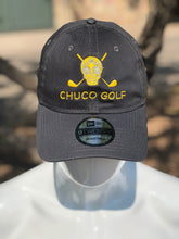Load image into Gallery viewer, Chuco Golf Cap- GreyYellow