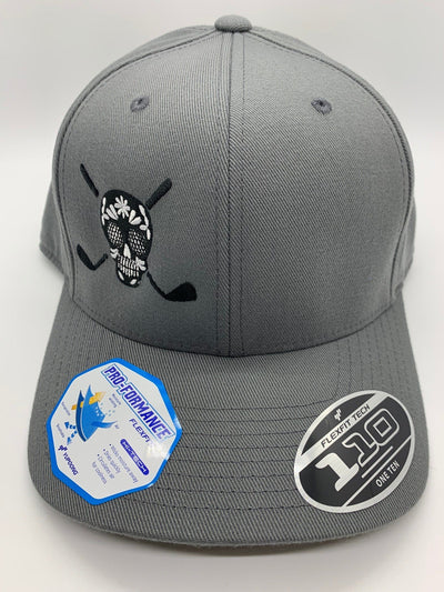 Chuco Golf Hat- Grey Black SS