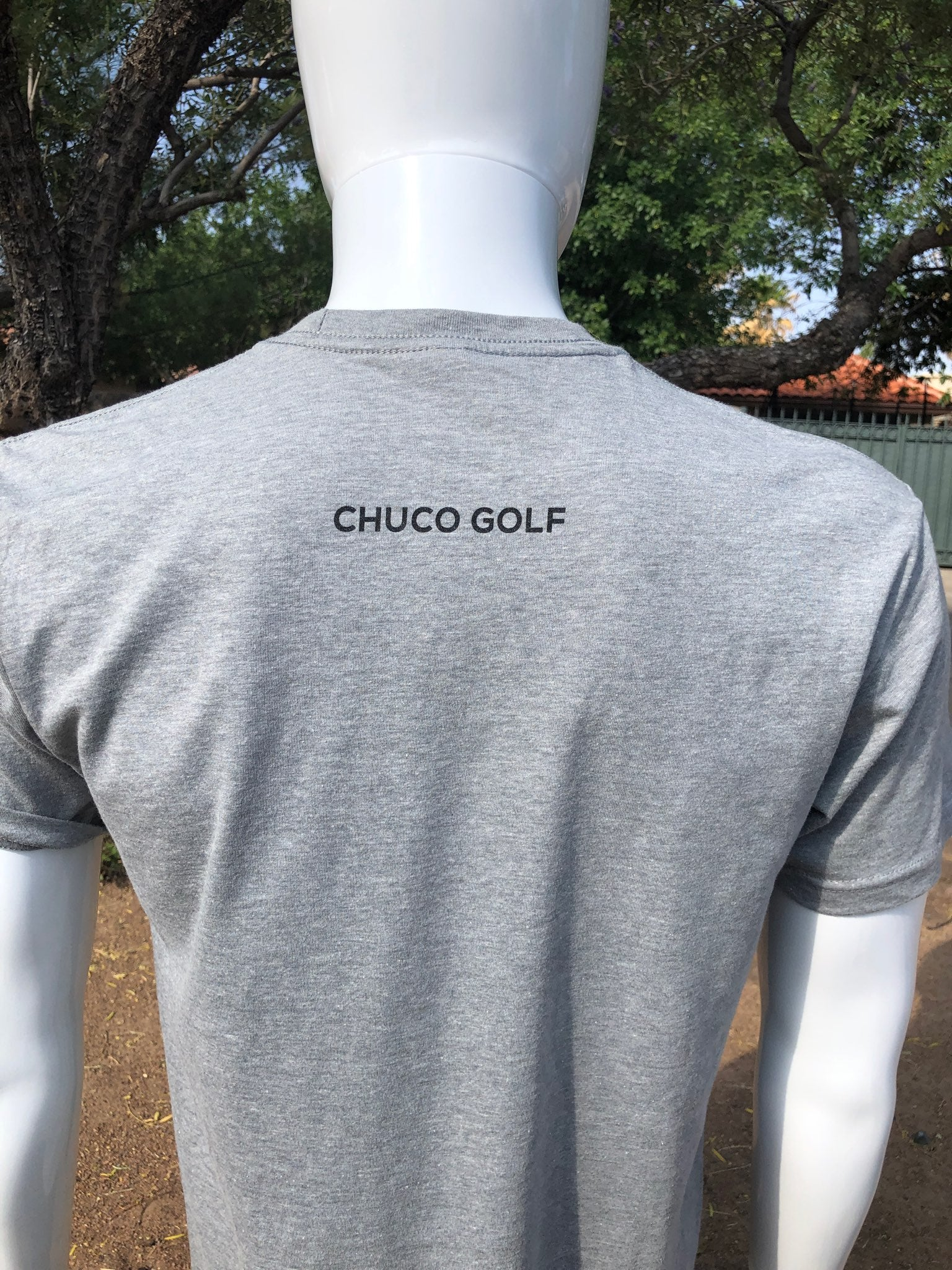 Chuco Tee- Heather Grey