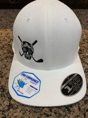 Chuco Golf Hat- White/Black