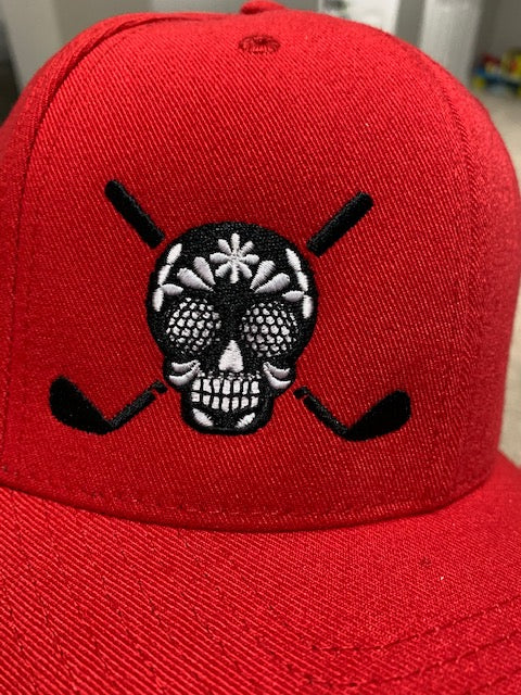 Chuco Golf Hat- Red