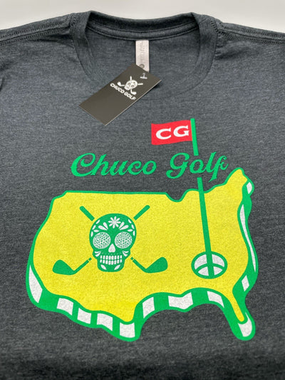 NEW Chuco Masters Tee- Black Heather