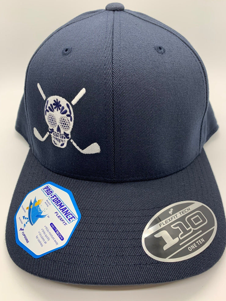 Chuco Golf Hat- Navy/White
