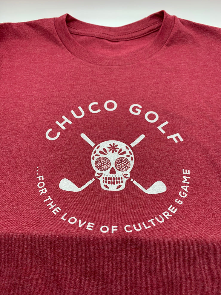 New Chuco Tee- Red Heather