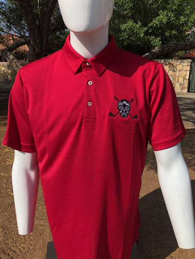 Chuco Golf Polo- Rojo