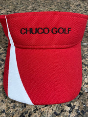 Chuco Golf Visor- Red
