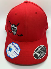 Chuco Golf Hat- Red/Black