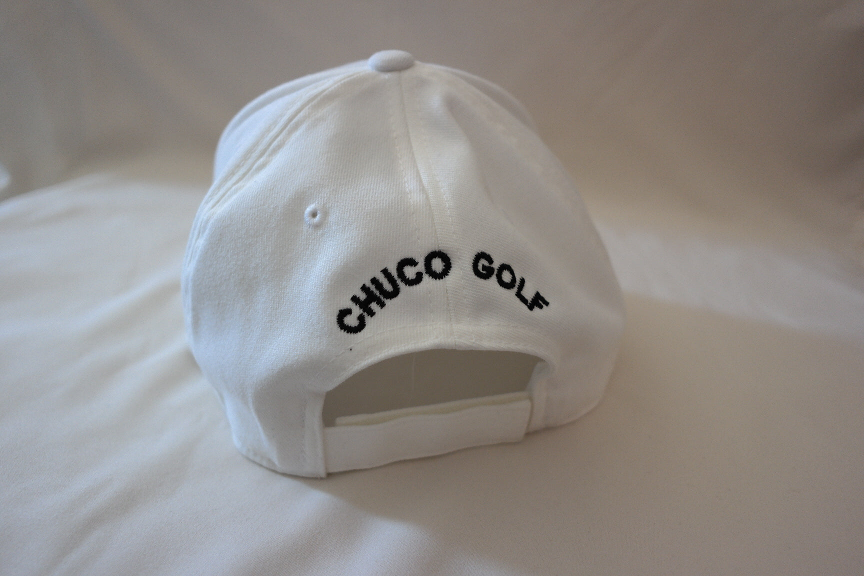 Chuco Golf Hat- White Sombero