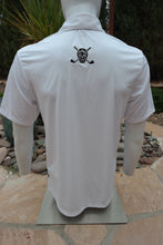 "Load image into Gallery viewer, Chuco Pocket Sport Polo- The ""Geek"" White"