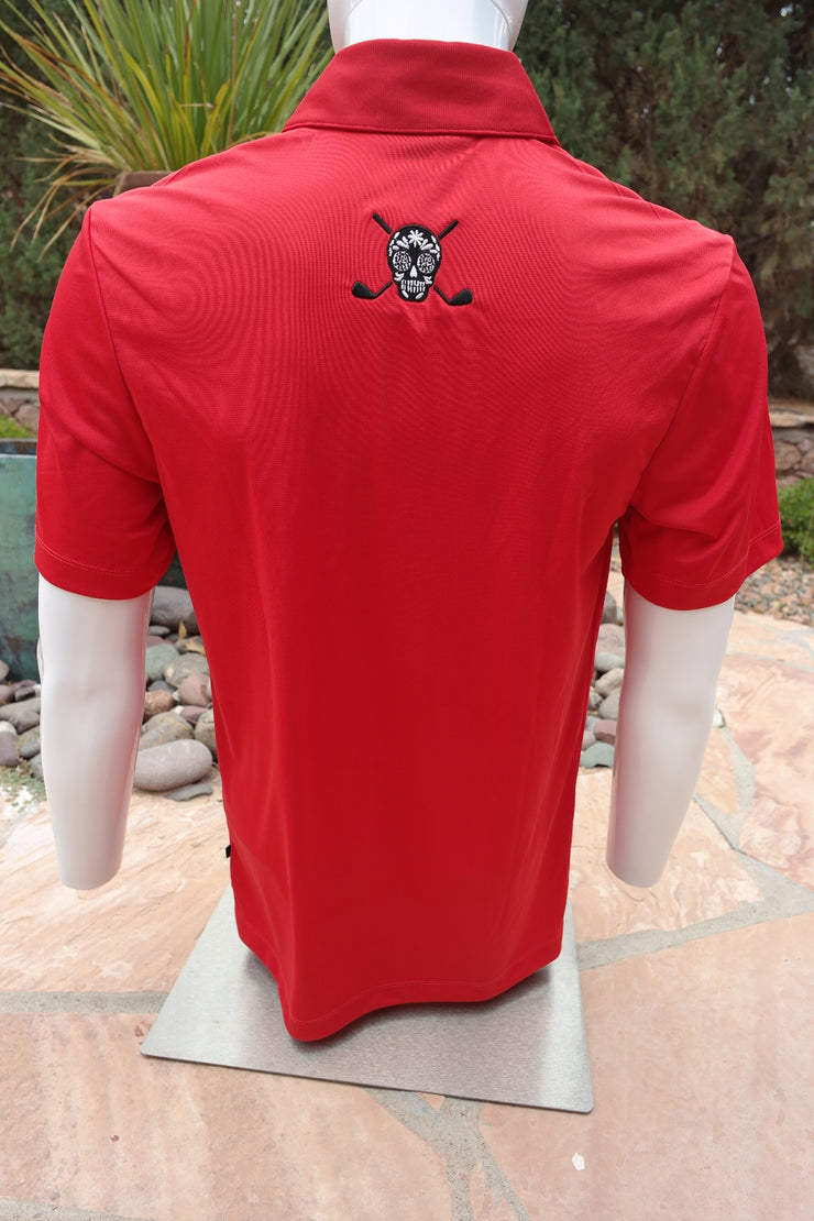 "Chuco Pocket Sport Polo- The ""Geek"" Rojo"