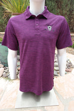 Load image into Gallery viewer, Chuco Heather Golf Polo- Heather Violet