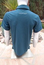 Load image into Gallery viewer, Chuco Executive Polo- Aqua Blue