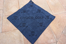 Load image into Gallery viewer, CHUCO GOLF Towel- Scatter Navy
