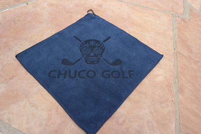 CHUCO GOLF Towel- Solo Navy
