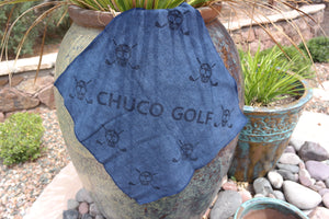 CHUCO GOLF Towel- Scatter Navy