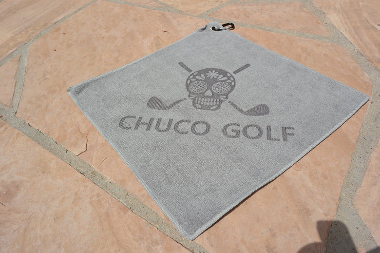 CHUCO GOLF Towel- Solo Grey