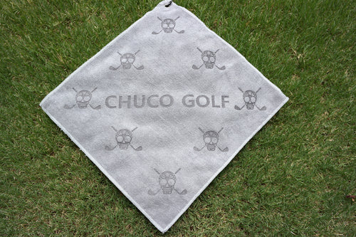 CHUCO GOLF Towel- Scatter Grey
