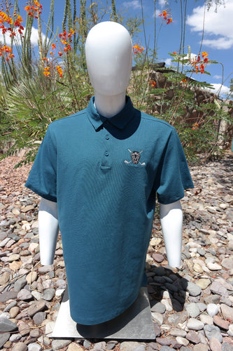 Chuco Executive Polo- Aqua Blue