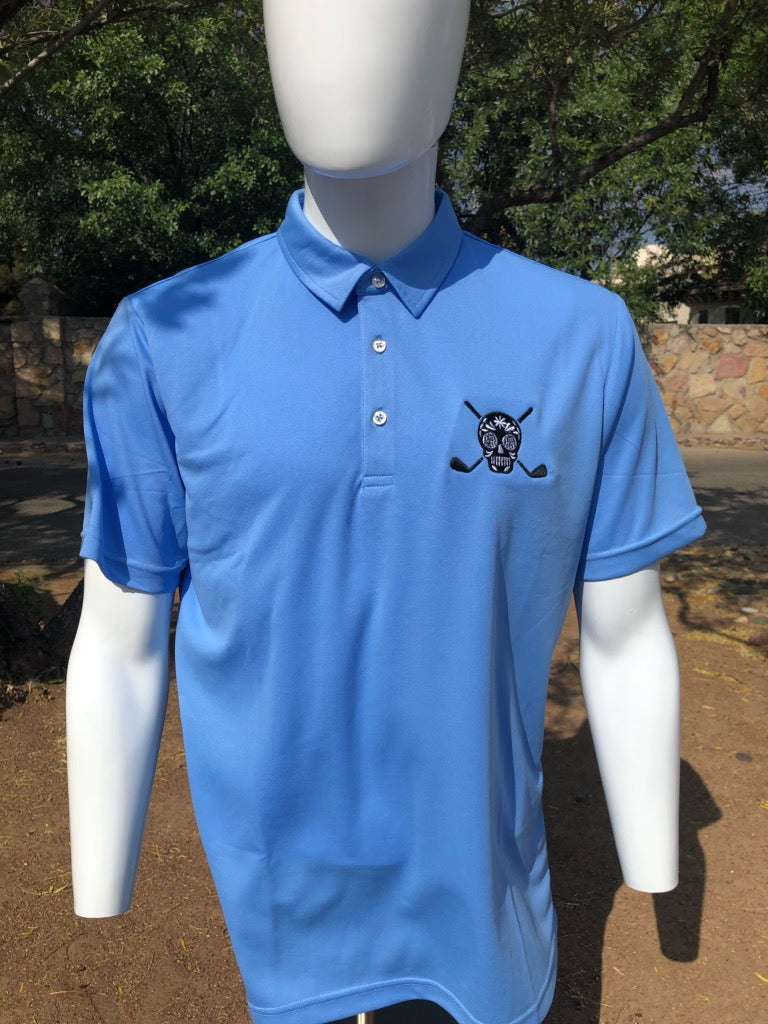 Chuco Golf Polo- Sky Blue