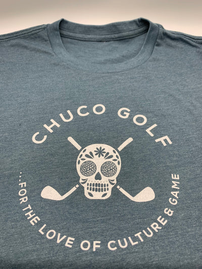 New Chuco Tee- Slate Blue Heather