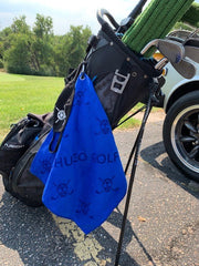 CHUCO GOLF Towel- Scattered Royal