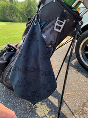 CHUCO GOLF Towel- Scatter Black