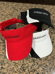 Chuco Golf Visor- White
